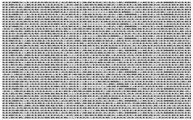 Binary computer code.  I want my students to understand, conceptually, how binary code relates to text, graphics, and other more familiar digital codes.
